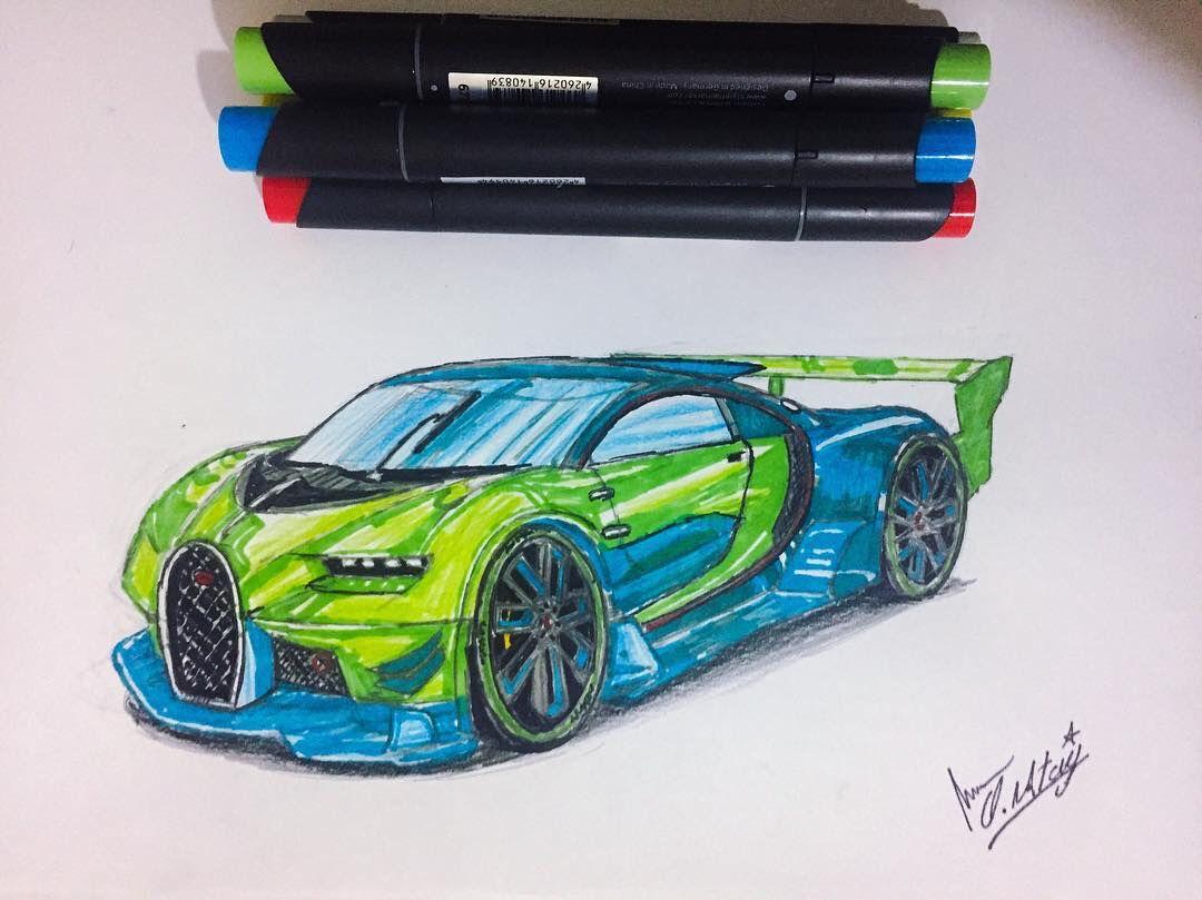 Araba Boyama Sayfasi Okuloncesitr Preschool Yaris Arabasi Bugatti Veyron Araba