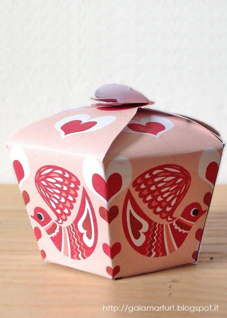 Hexagonal Cake Box