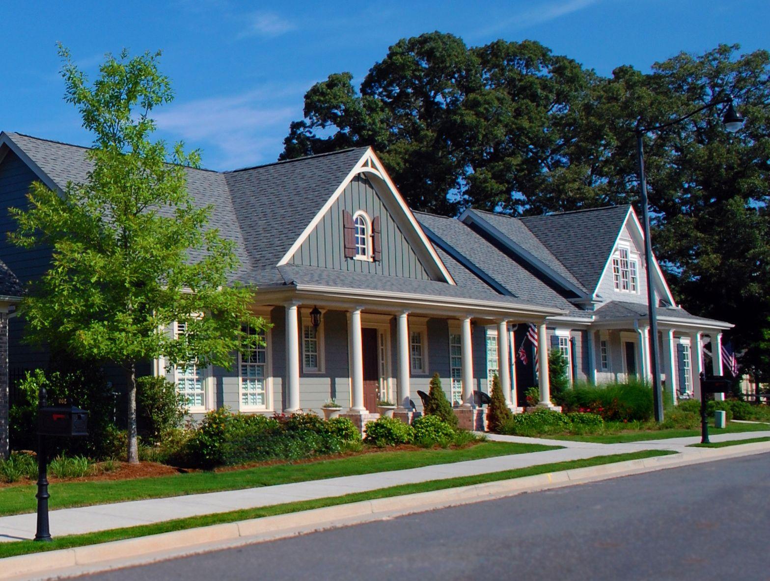 Garden street in downtown woodstock ga 19 elegant ranch for Ranch home builders ohio