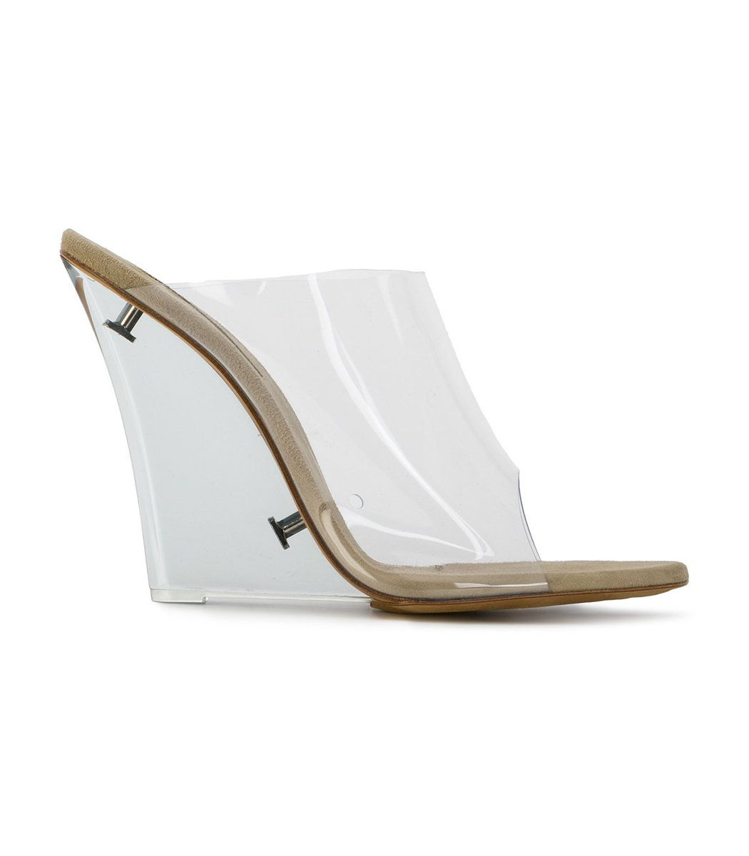 d799b0ca2 YEEZY Clear Pvc Wedge Mules.  yeezy  shoes