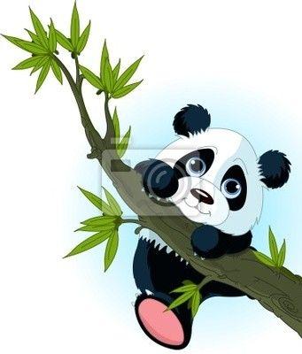 panda bebes dibujos  Buscar con Google  mel  Pinterest  Pandas