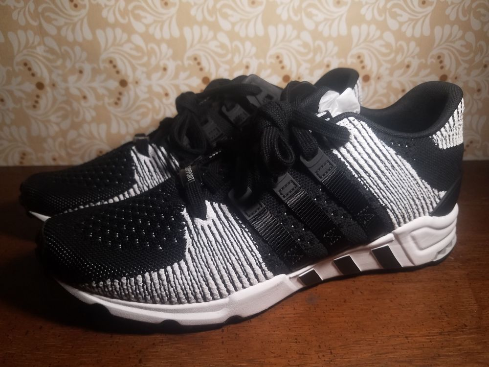 new concept 3feed 13bdd Black and White Adidas Mens Eqt Support RF Primeknit Shoes - Size 9.5  BY9689 fashion clothing shoes accessories mensshoes athleticshoes  ad (ebay ...