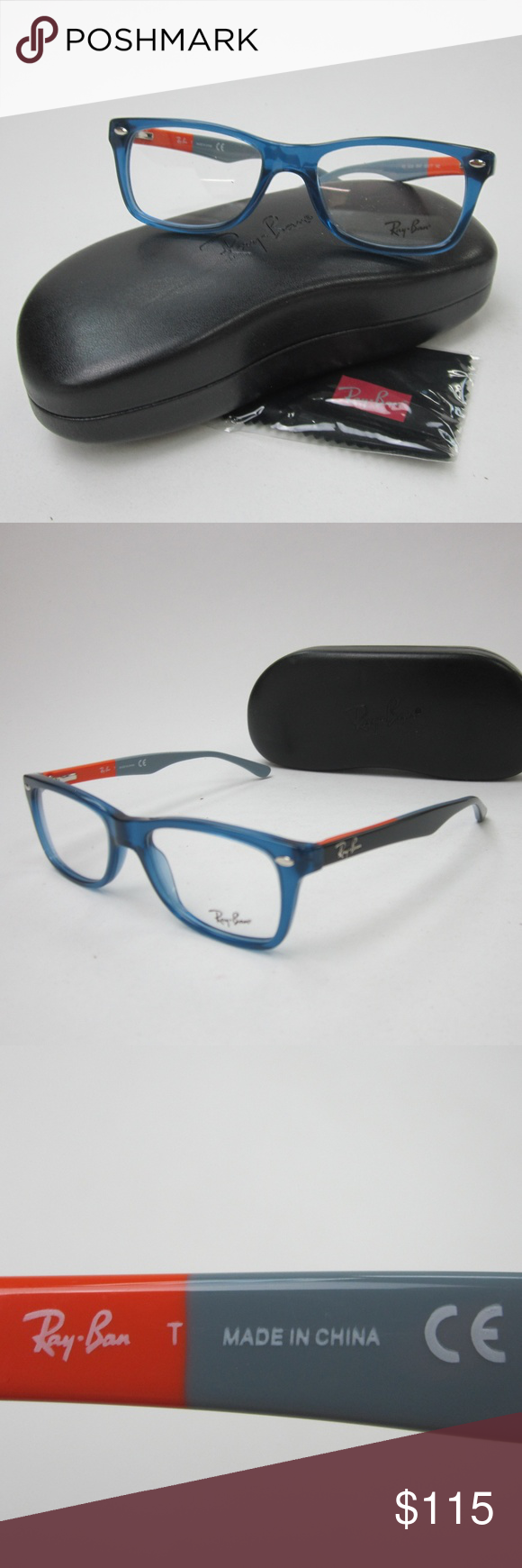 02b8b76c2b Ray Ban RB 5228 5547 Unisex Eyeglasses OLE609 Ray Ban RB 5228 5547 Women s  Eyeglasses