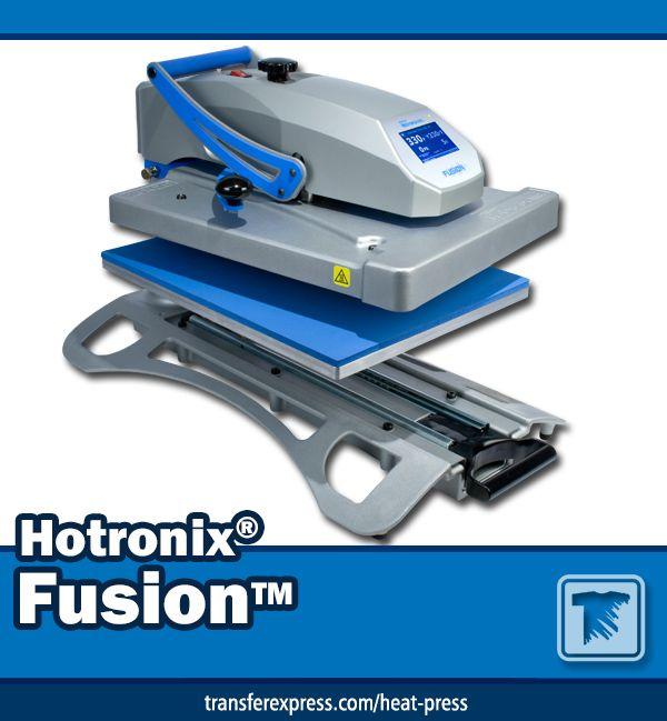 Hotronix Air Fusion Iq Heat Press With Images Heat Press Heat Heat Transfer Material