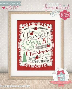 House of Jack Personalised Art, Personalised Gifts and Graphic ...
