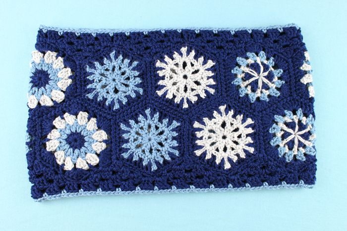 Free Crochet Pattern: Hexagon Granny Cowl | Crochet | Pinterest ...