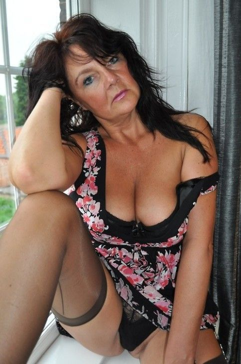 Mature and hairy women