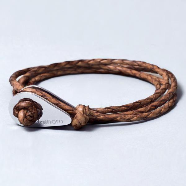 fathom bracelet cuir