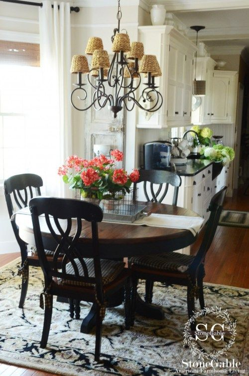 Easy 30 Minute House Cleaning Schedule Farmhouse Kitchen Tables