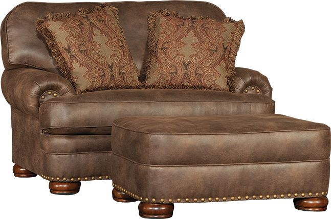 Mayo Furniture 3620 Chair And Ottoman Vagabond Elk This
