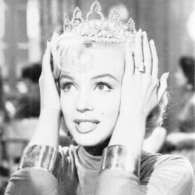 A Kiss On The Hand Might Feel Very Good But A Diamond Tiara Lasts
