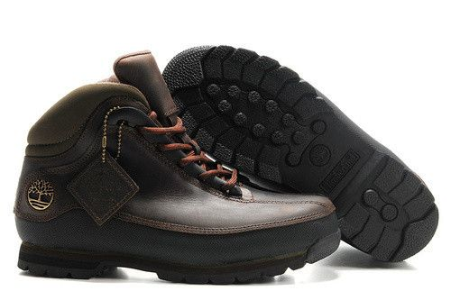327bd87f Barato Timberland Hombres Botas - Timberland Euro Caminante Boots Dark Brown