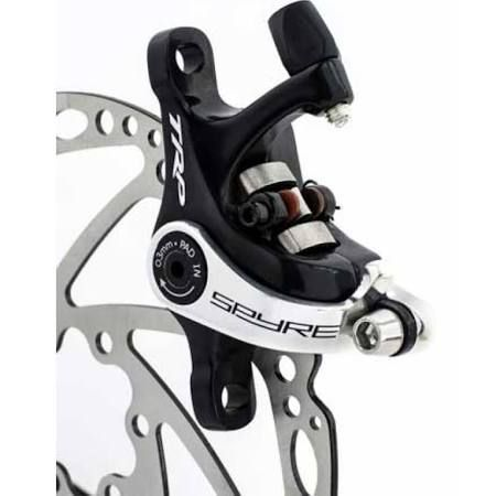 Front //Rear //Set TRP SPYRE Alloy Mechancial Disc Brake Caliper with 160mm Rotor