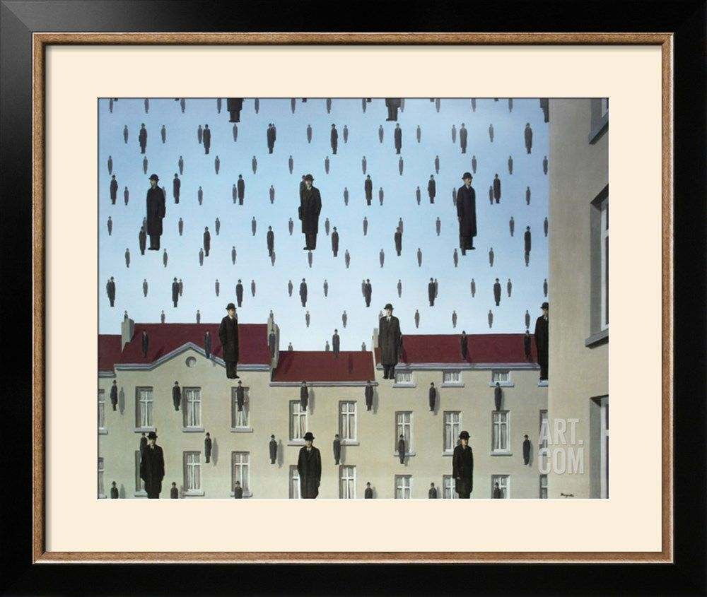 GolcondeBy Rene Magritte | Pinterest