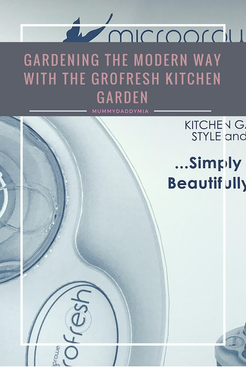 We have been gardening the modern way with the help of the Grofresh ...