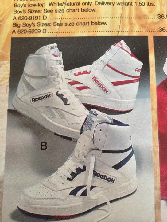 68bbcb41550 Reebok BB4600 High-top from 1988. I had the 2 pairs of the red and white.  Best ever trainers I ever had