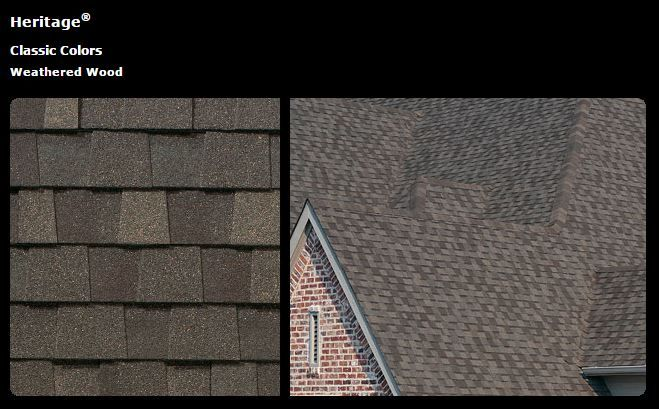 Exterior Roof Option Tamko Heritage Weathered Wood Wood Roof Shingles Wood Roof Shingle Colors