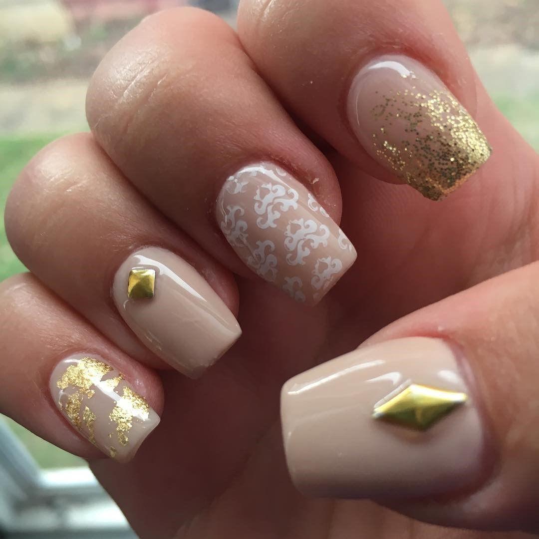 Easy super nail art designs nude nail designs pinterest