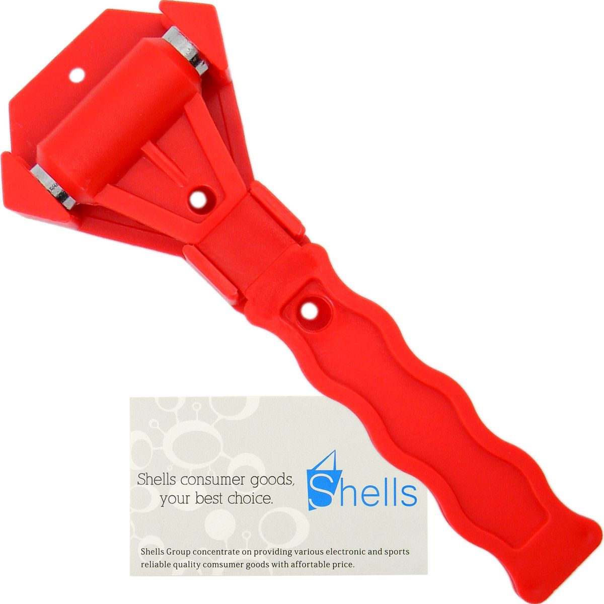 Shells Red Color Emergency Escape Tool Car Window Breaker Safety