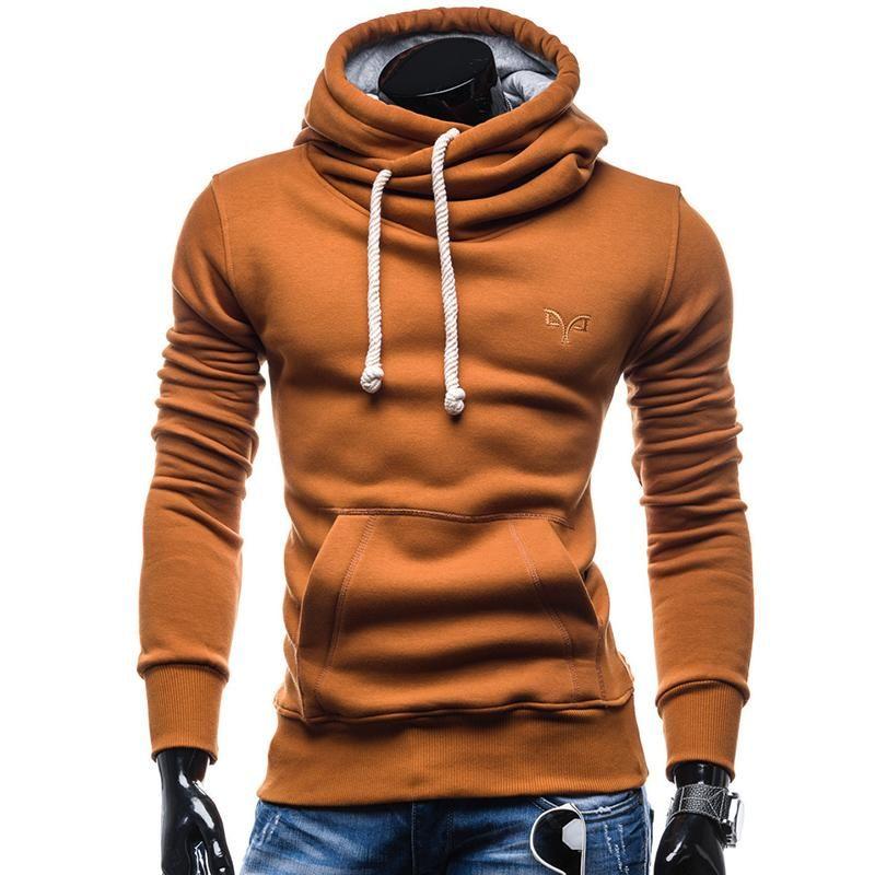 Turtleneck Hoodie in 2020   Men's fashion brands, Mens