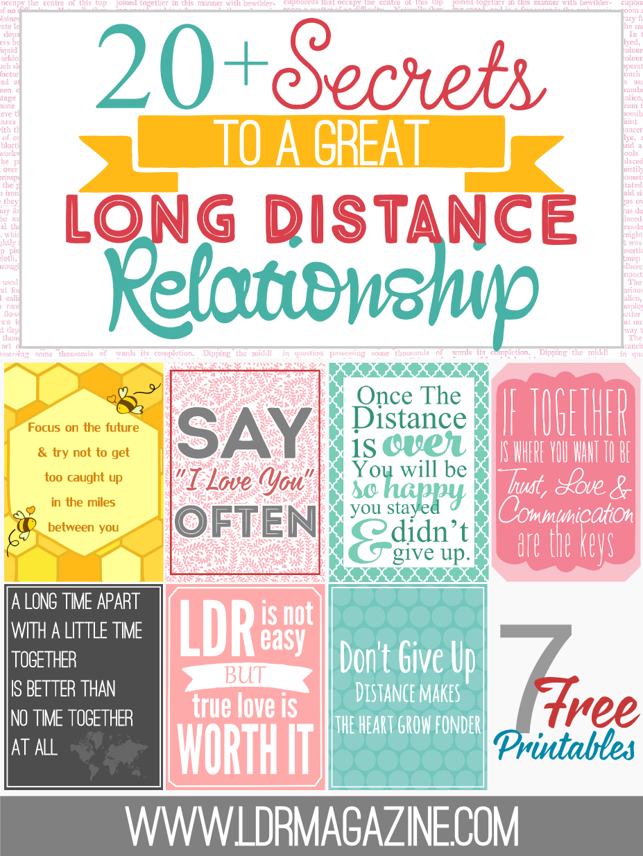How to reignite the spark in a long distance relationship