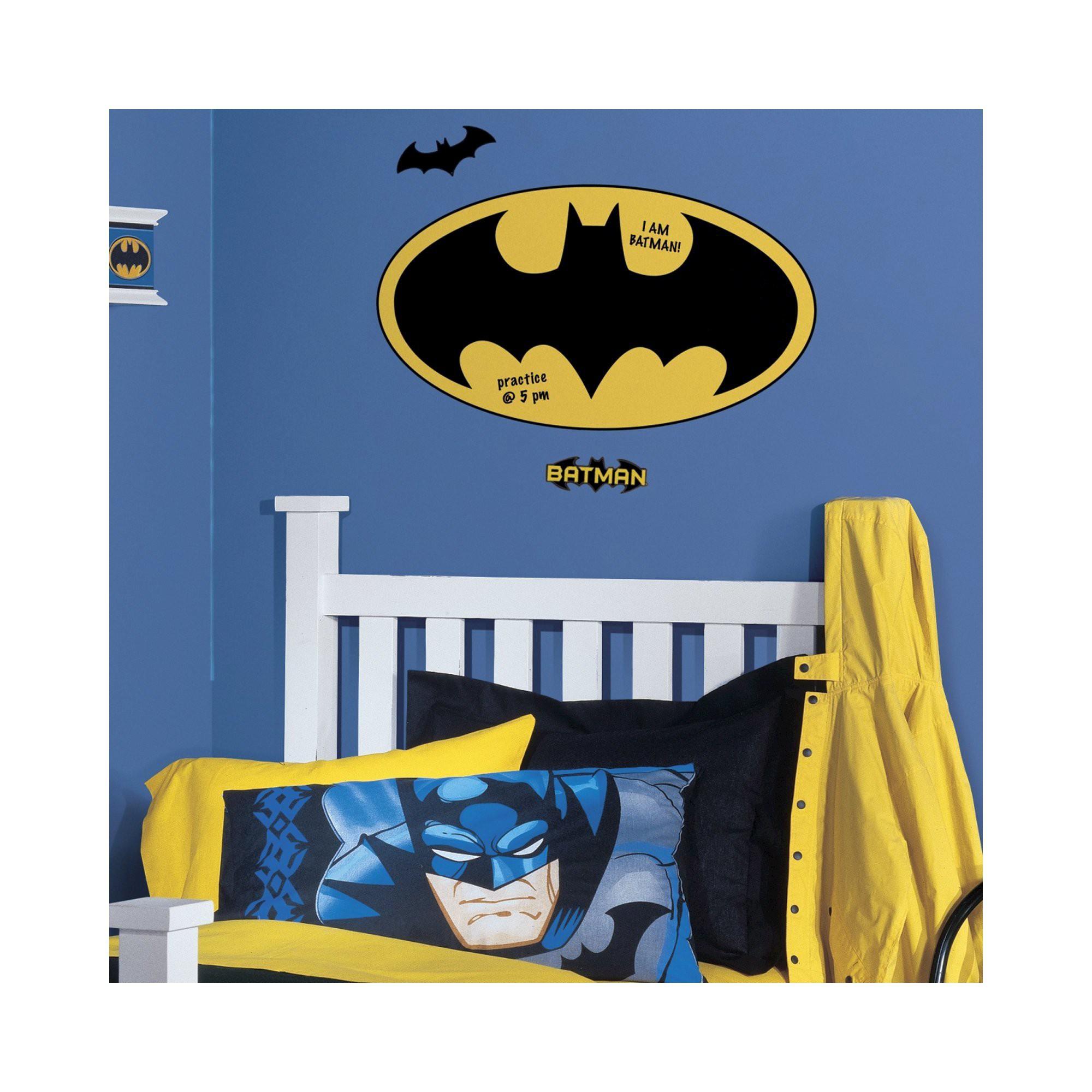 Batman Dry Erase Wall Decal Dry erase wall, Wall decals