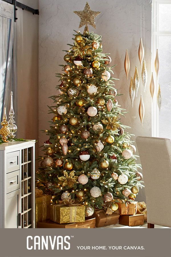 Make a glittering statement with our glamorous, gold-themed collection of accents that add a romantic air of vintage sophistication.  Introducing the CANVAS Christmas Collection. We've got holiday decor that's dramatic, elegant, nostalgic, and just plain fun. Everything is made to mix and match - find the combination that's right for you. Exclusively at Canadian Tire.