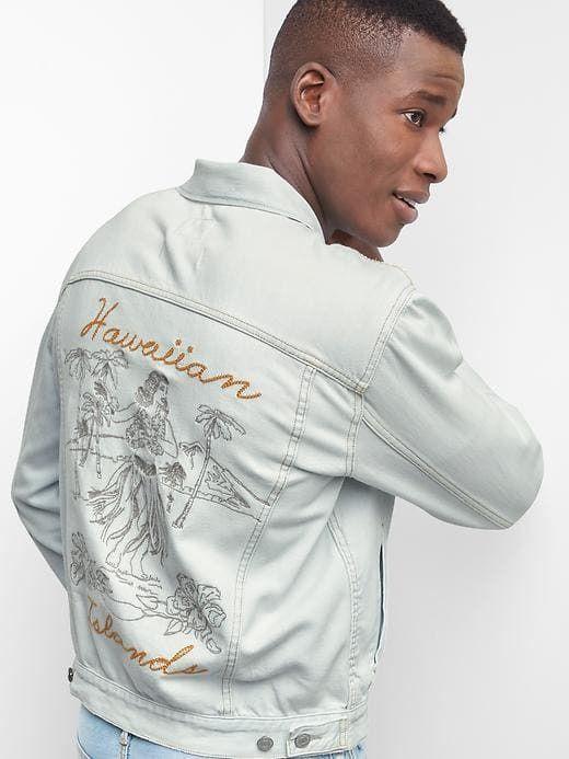 Gap Hawaiian Islands Icon denim jacket