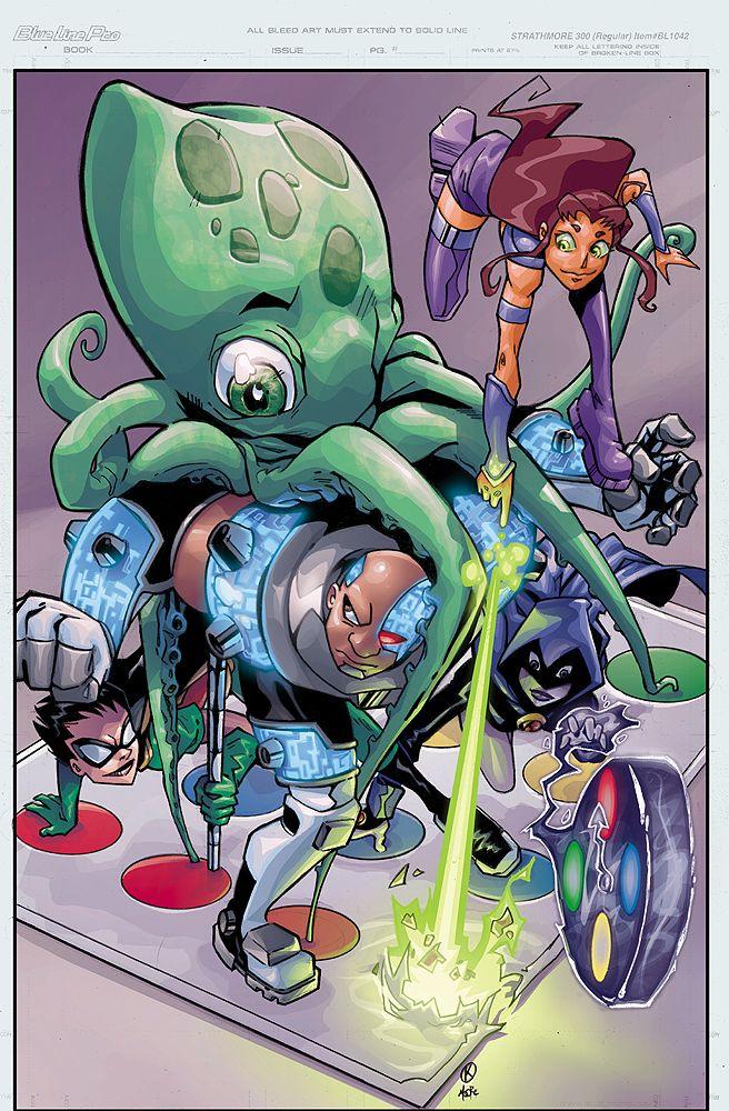 Teen Titans Gogogo By Anoma-Lee On Deviantart-6244