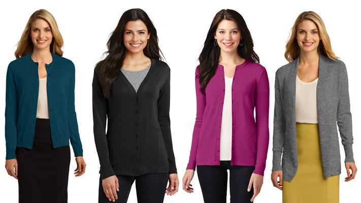 Port Authority Womens Cardigans from NYFifth