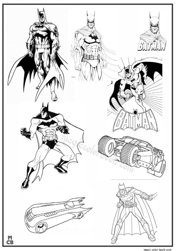 Batman Arkham City Lego Superman Superhero Coloring Pages Cities Colour Books Livros
