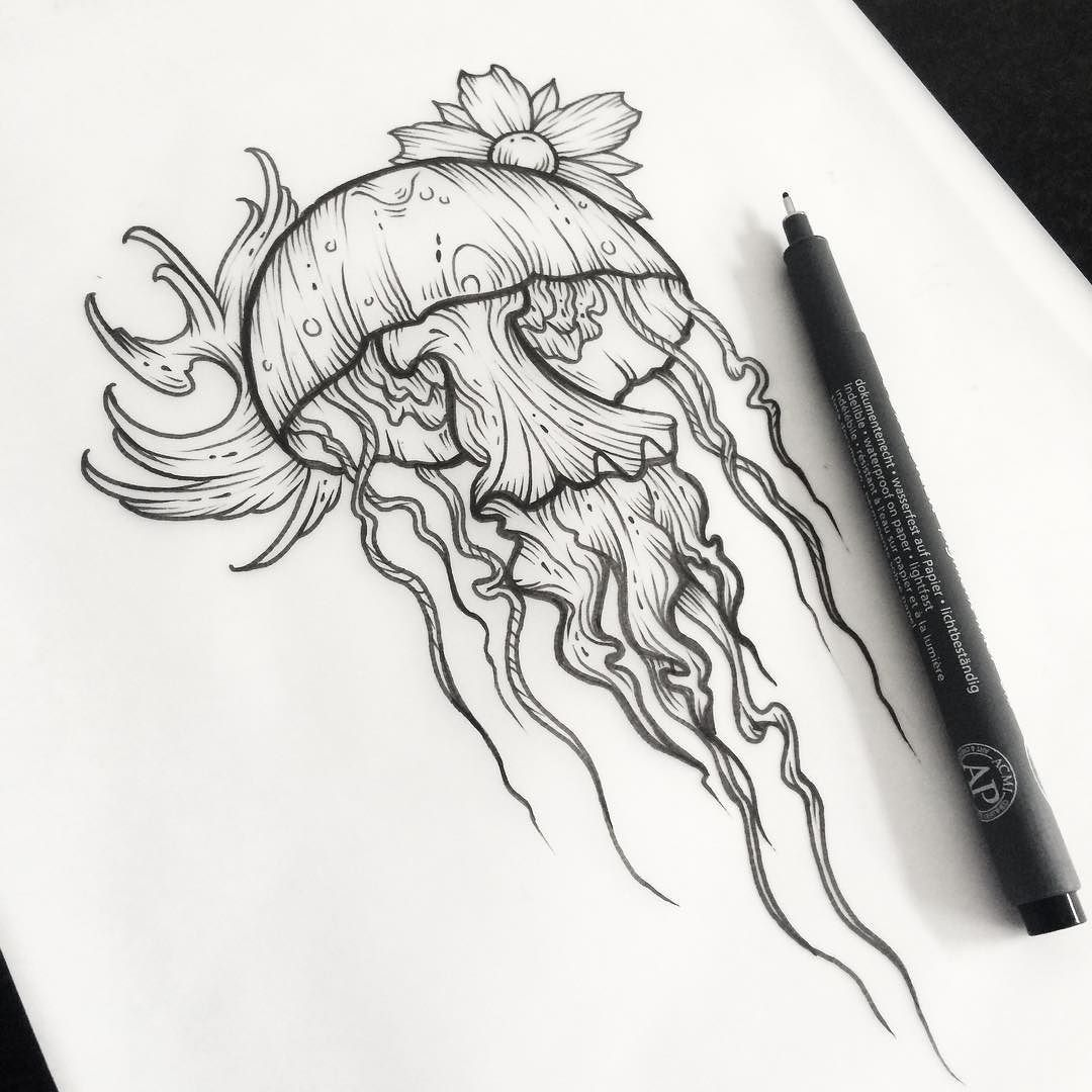 Fresh WTFDotworkTattoo Find Fresh from the Web Peanut Butter Jellyfish available…