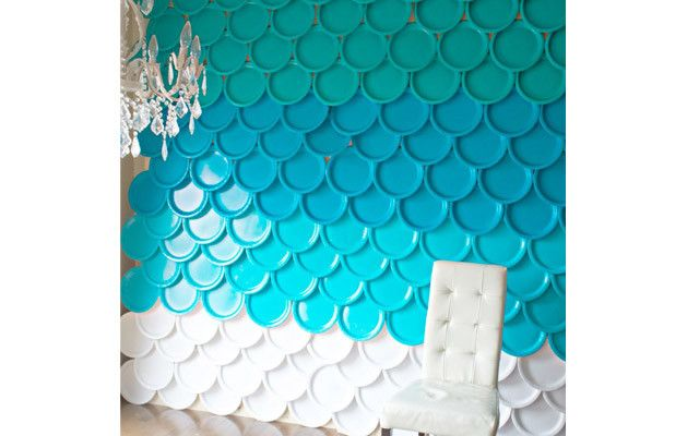 How to Create an Ombre Party Backdrop   Wayfair