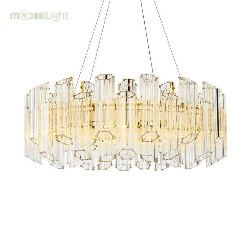 Mooielight Luxury Modern Crystal Chandelier For Living Room
