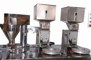 Ki Scf Semi Automatic Capsule Filling Machine With Images Machine Capsule Automatic