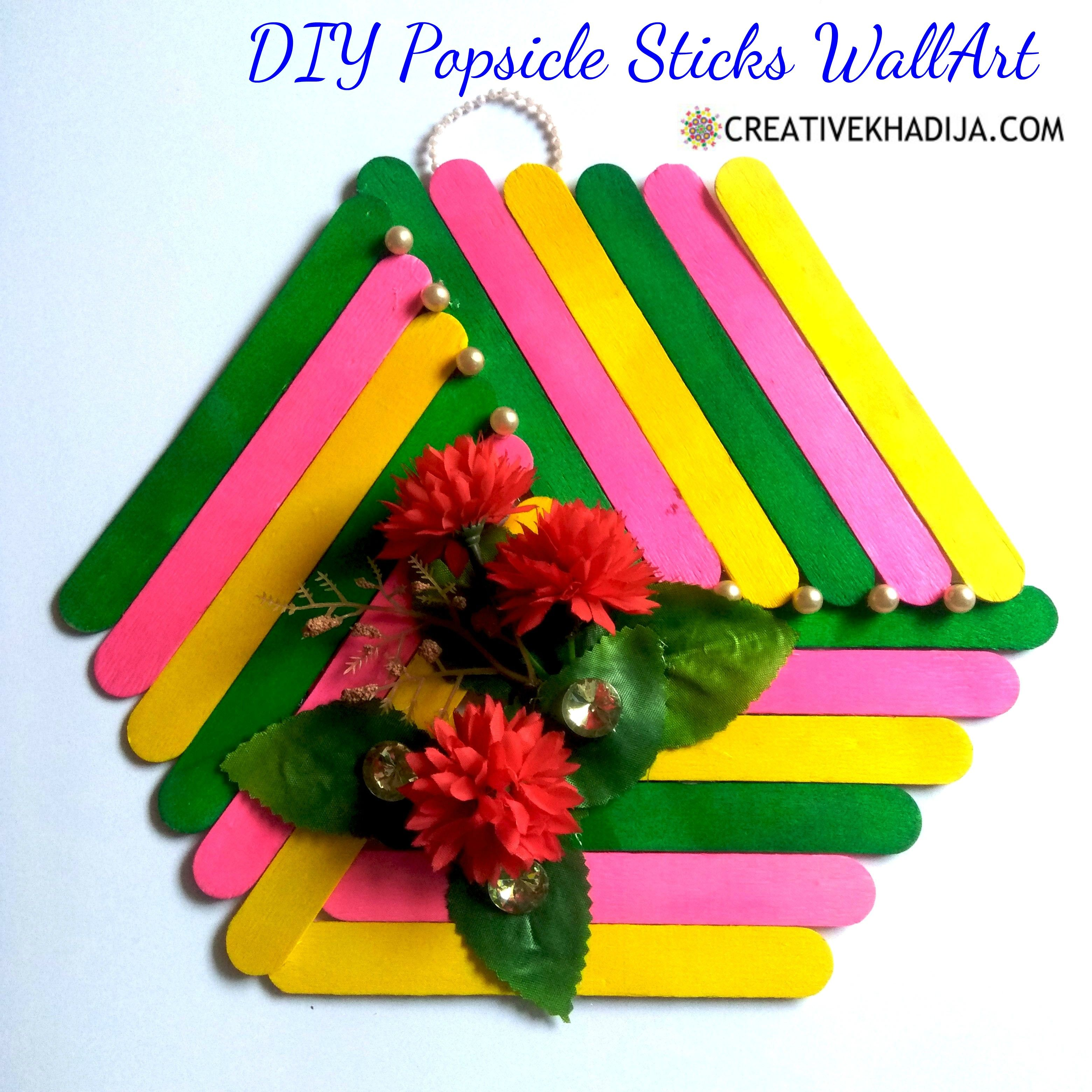 24++ Diy popsicle stick craft idea ideas in 2021