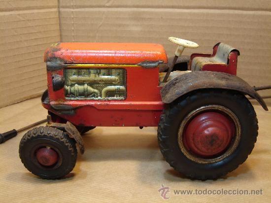 Antiguo ¡¡ Juguetes Comprar Diri Tractor Arnold Cable Hojalata MpGSzqULV