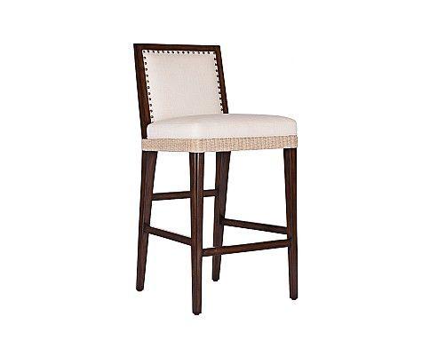 Excellent C403 040 Wicker Burlap Barstool Furniture Bar Counter Beatyapartments Chair Design Images Beatyapartmentscom