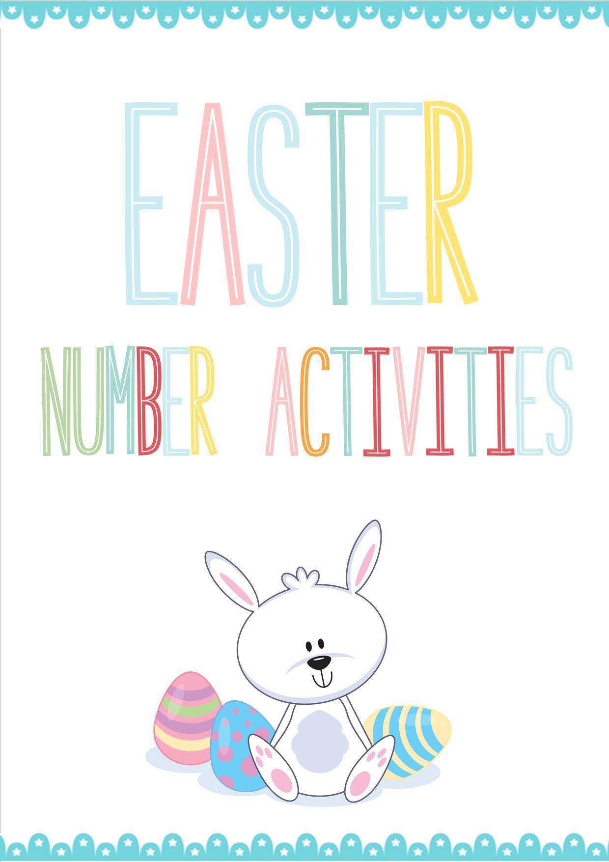 Easter Number Activities