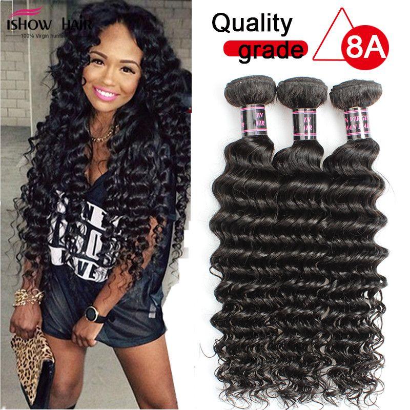 Brazilian Deep Wave Virgin Hair100 Brazilian Human Hair Weave