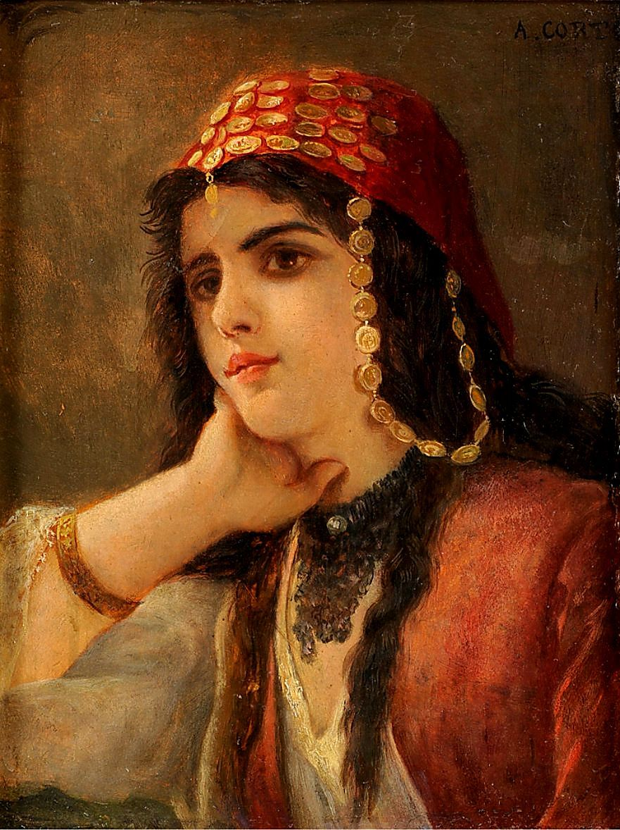 Corte, A. 19. Jhdt. Femme Turque