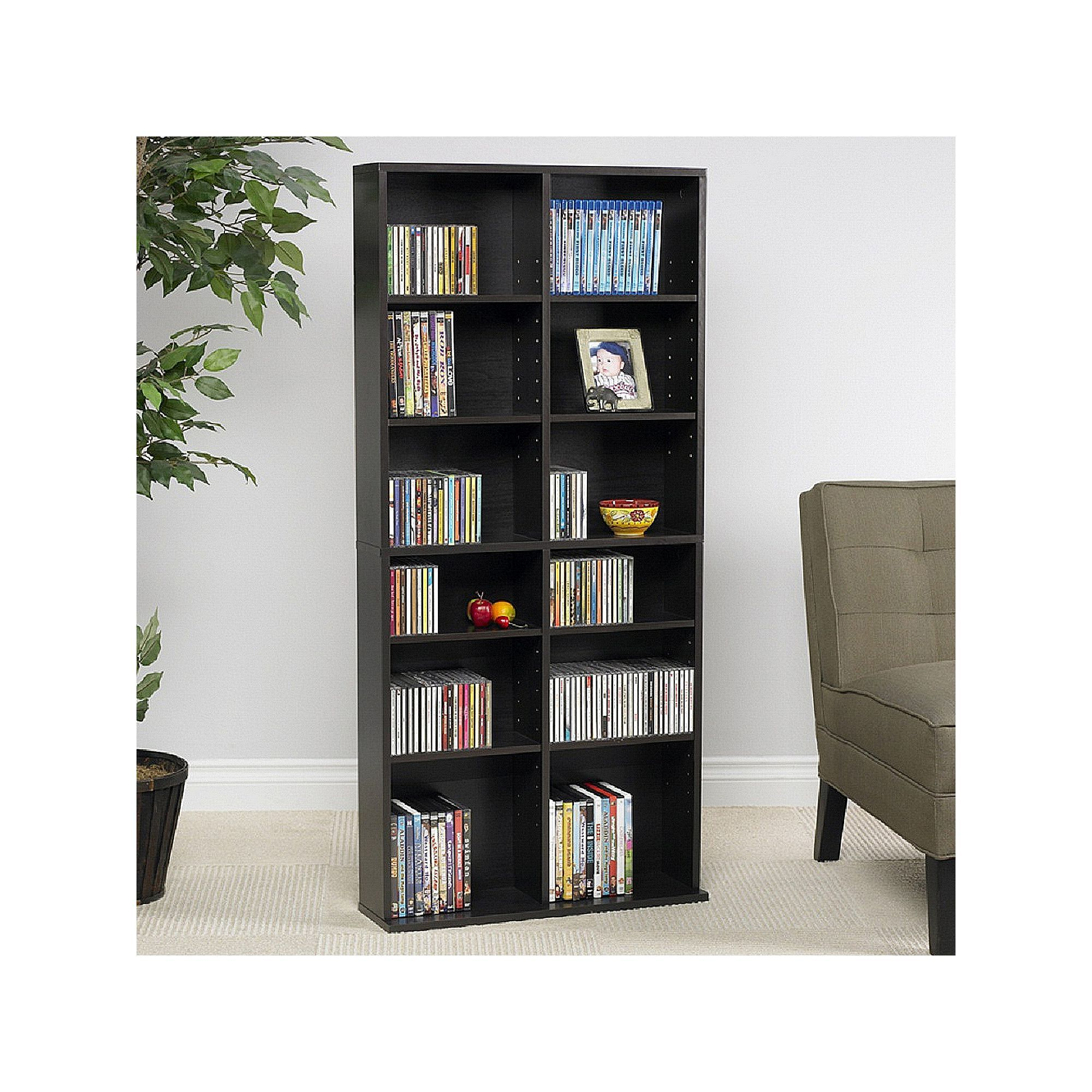 Atlantic Oskar 464 Multimedia Storage Cabinet Brown With Images