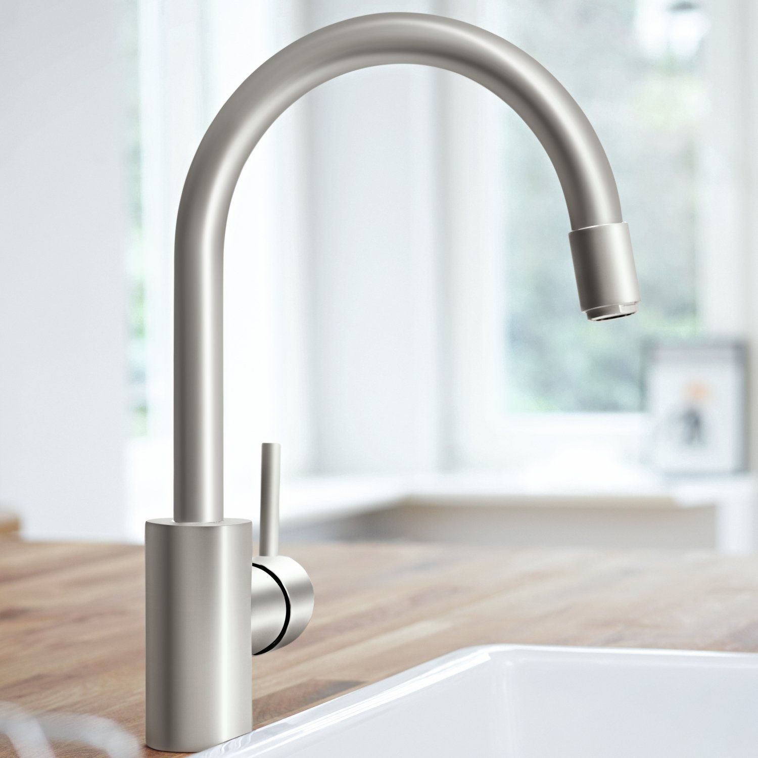 GROHE Concetto Kitchen Tap (High Spout with Pull-Down Spray Head ...