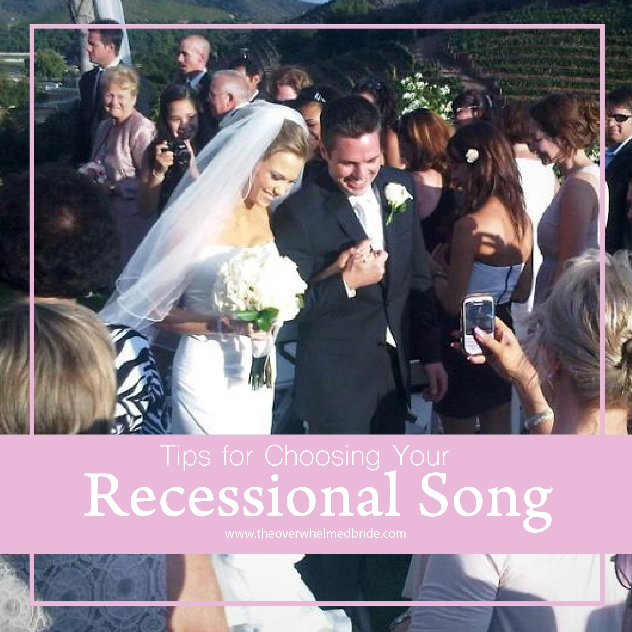 Tips For Choosing Your Recessional Song