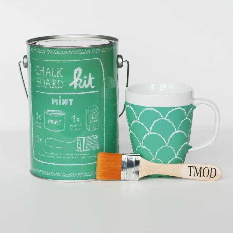 Mint Chalkboard Paint Kit
