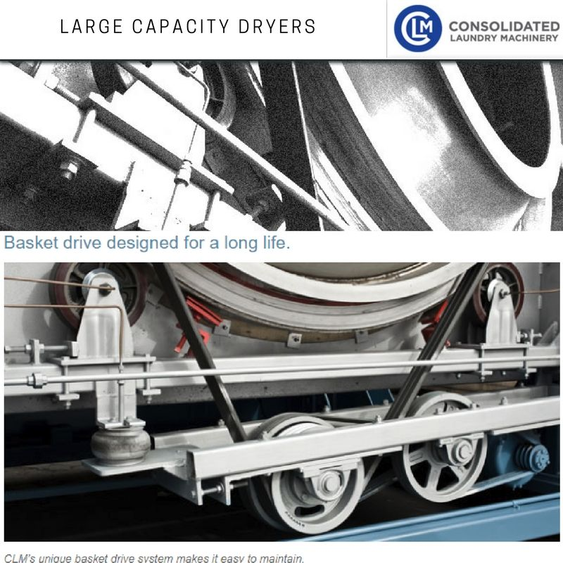 Get large capacity dryer with high efficiency for heavy