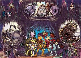 Fraggle Rock: It's All Connected by HeidiArnhold