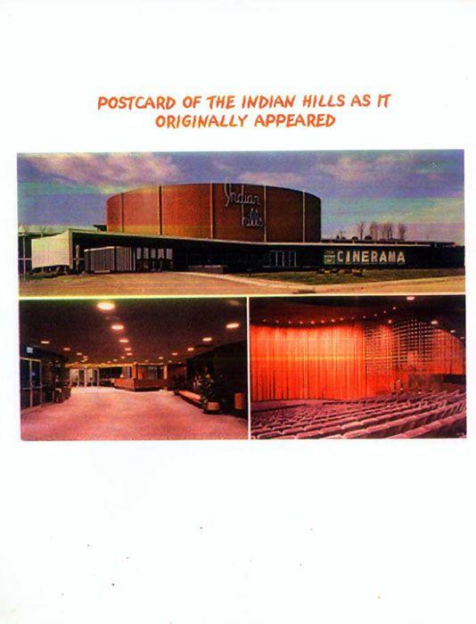 Original Postcard Indian Hills Nebraska Omaha