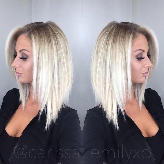10 Stylish & Sweet Lob Haircut Ideas, Shoulder Len