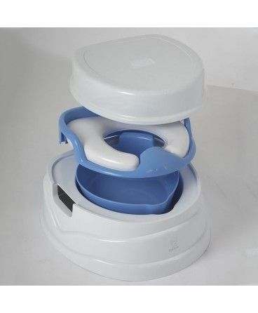 Tippitoes Luxury Trainer Potty Seat Blue Potty Seat Toilet Training Blue